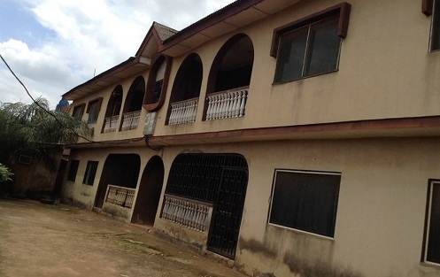 A BLOCK OF 4 NOS 3 BEDROOM FLAT FOR SALE IN AKUTE